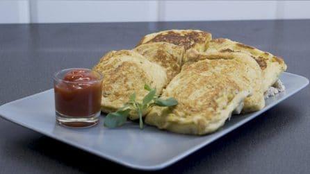 Fagottini di pane sandwich: facili da preparare, sono perfetti per uno snack gustoso!