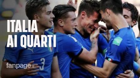 Mondiale Under 20: l'Italia batte la Polonia per 1 - 0 e vola ai quarti di finale