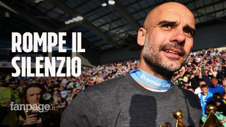 """Pep Guardiola rompe il silenzio e allontana la Juventus: """"Ripartiremo da zero in Premier"""""""