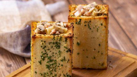 Cestini di pane: un modo originale e sfizioso per servire la pasta!