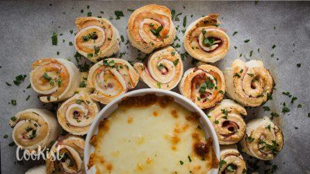 Croque monsieur crown: the perfect appetizer!