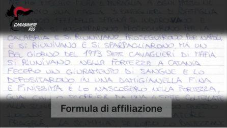 """Arresti nel clan Fragalà, la formula di affiliazione dei membri: """"Sette cavalieri di mafia"""""""