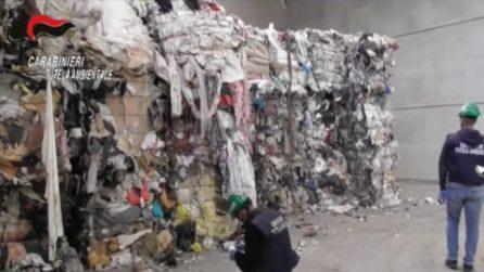 Diecimila tonnellate di rifiuti smaltite in modo illecito: 20 arresti a Milano e in tutta Italia