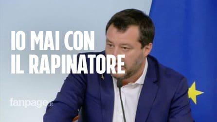 """Ladro ucciso a Ivrea, Salvini non cambia idea: """"Io sto sempre con l'aggredito"""""""