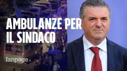 """Ambulanze a sirene spiegate per celebrare Alfieri, neosindaco a Paestum: """"Niente abusi, era goliardia"""""""