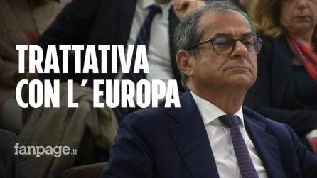 """Giovanni Tria: """"Tratteremo con l'Europa sui conti. Il governo dura? Speriamo di sì"""""""