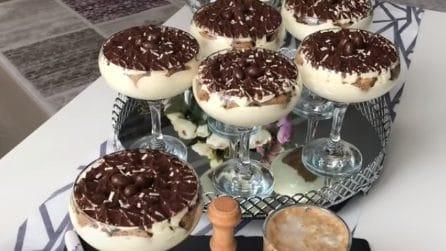Coppe di tiramisù: una versione golosa dell'amato dessert