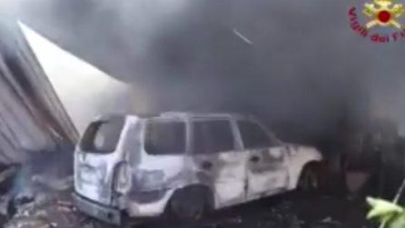 Roma, esplode una casa: un uomo muore carbonizzato
