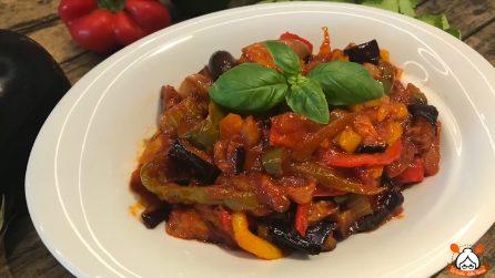 Caponata siciliana: un modo gustoso per preparare le verdure