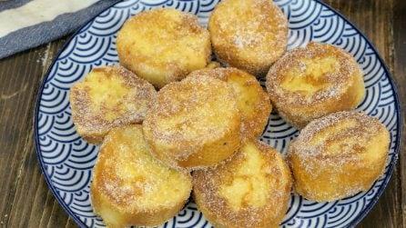 Pane fritto con lo zucchero: un modo super goloso per riciclare il pane raffermo!