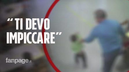 """Avellino: maltrattamenti in asilo, strattoni e le frasi choc: """"Stai zitto… io ti devo impiccare"""""""