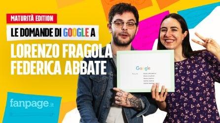 Maturità 2019, come affrontarla: Lorenzo Fragola e Federica Abbate rispondono alle domande di Google