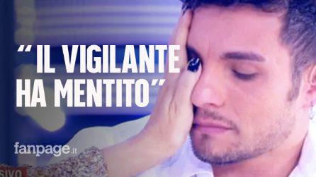 """Marco Carta, dopo l'arresto, in lacrime a Live - Non è la D'Urso: """"Il vigilante ha mentito"""""""