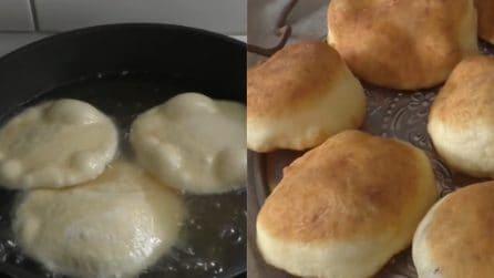Panini fritti: farciteli a piacere e saranno perfetti