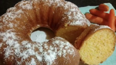 Torta soffice di carote: la merenda genuina e gustosa