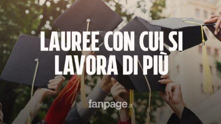 Ecco le lauree con cui si trova lavoro più facilmente: il dossier su 280mila laureati italiani