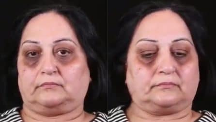 Un volto stanco e trascurato: questa donna vuole solo sentirsi bella, la trasformazione