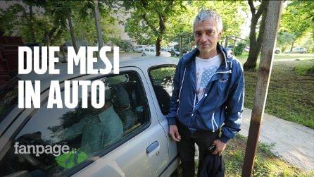 """Tre disoccupati dormono da due mesi in auto, imprenditore li assume: """"Avevamo perso la speranza"""""""
