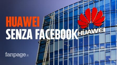 Anche Facebook molla Huawei: niente più app preinstallate sui dispositivi della casa cinese