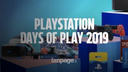 PlayStation Days of Play 2019: i migliori giochi PS4 in offerta fino al 60%