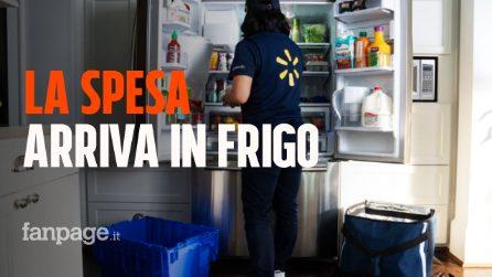 Walmart lancia InHome, il servizio di consegne che porta la spesa direttamente nel frigorifero