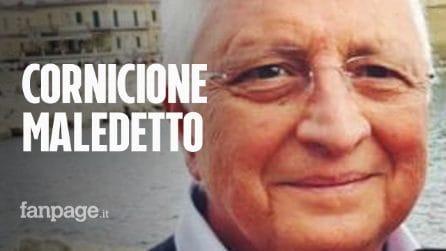 Crolla cornicione a Via Duomo: morto Rosario Padolino, storico commerciante di Napoli