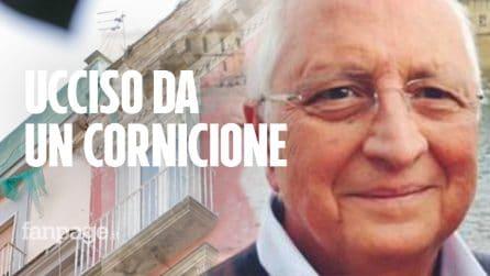 """Commerciante ucciso da un cornicione a via Duomo, la figlia Rossella: """"Era un uomo buono"""""""