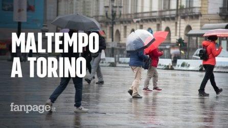 Maltempo, violente grandinate e nubifragi si abbattono su Torino: morto 1 uomo