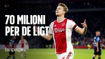 La Juventus chiama, De Ligt risponde: offerta da 70 milioni per il centrale dell'Ajax