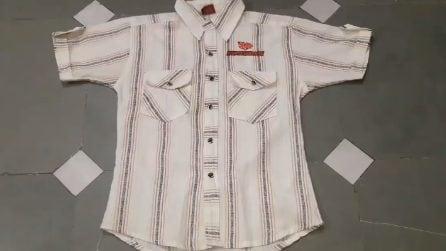 Transforma completamente una vecchia camicia: il risultato è stupendo ed estivo
