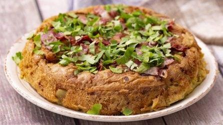 Tortilla di patate con piadina: un'idea gustosa da provare subito!
