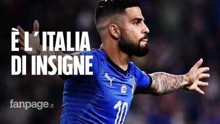 Insigne trascina l'Italia: due tiri, un gol e un assist piegano la Bosnia