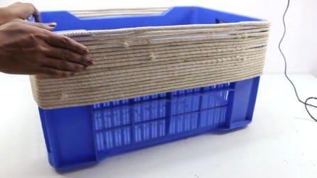 Come riutilizzare una cassetta di plastica per la frutta: il riciclo è strepitoso