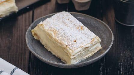 Come fare in casa la Kremsnita: la ricetta originale che vi farà venire l'acquolina in bocca!