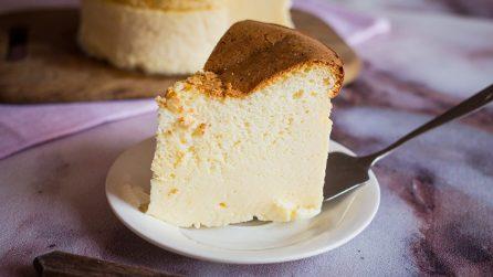 Cheesecake soufflè: il dolce più morbido che abbiate mai assaggiato!