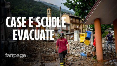 """Lecco, alluvione allaga case e strade, gli abitanti: """"Non succedeva da 70 anni"""""""