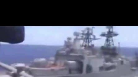 Incidente sfiorato tra nave da guerra USA e una russa