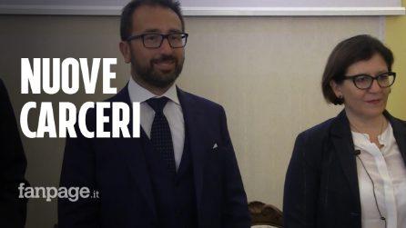 """Nuove carceri, Trenta e Bonafede firmano il protocollo: """"Mai più indulto e svuota carceri"""""""