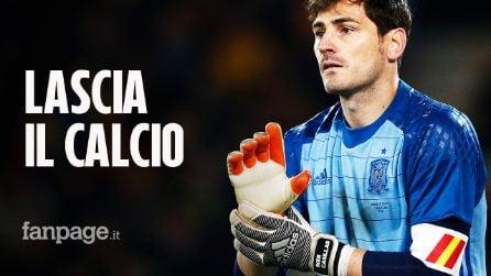 Iker Casillas si ritira, chiude la carriera a 38 anni: dopo l'infarto non può continuare a giocare