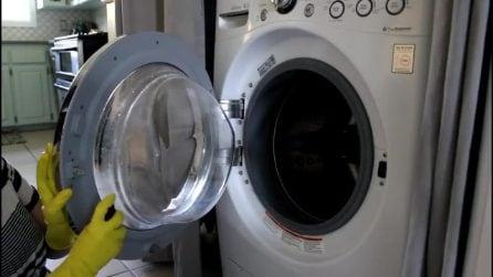 Come profumare la lavatrice e prevenire la formazione della muffa