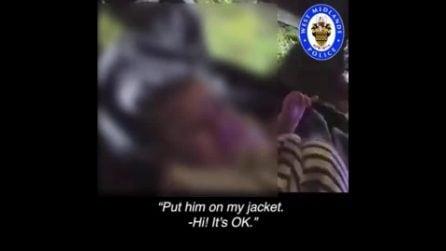 Spacciatore rapisce un neonato e scappa: dopo l'inseguimento, la polizia salva il piccolo