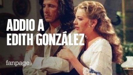 Morta Edith González, la star delle telenovelas messicane aveva 54 anni