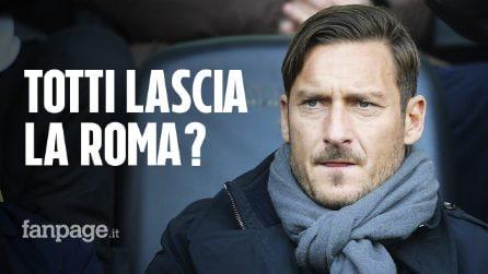 Francesco Totti lascia la Roma. Lunedì la conferenza stampa dell'ex capitano
