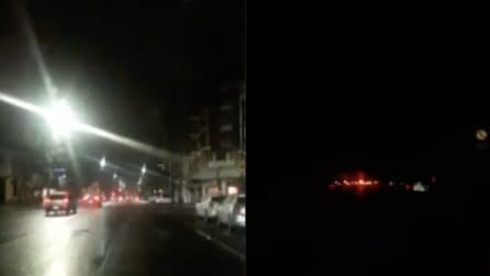 """Salto nel buio: il blackout in diretta è davvero """"suggestivo"""""""