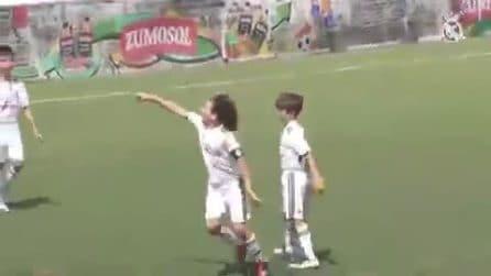 Ancora un golazo del figlio di Marcelo: nel Real Madrid è nata una stella