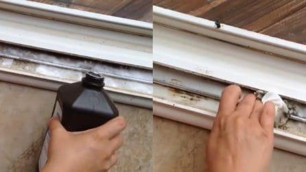 Come rimuovere la muffa dagli infissi delle finestre