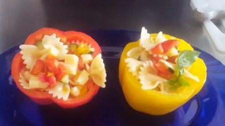 Pasta all'insalata di verdure: un primo piatto da leccarsi i baffi