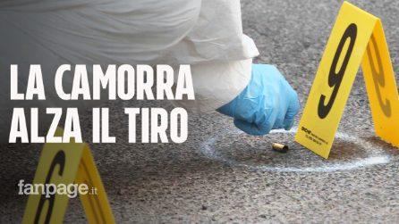 Napoli, terrore nella notte. Esplode bomba carta e stesa di camorra con 50 proiettili