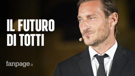 Il futuro di Francesco Totti dopo l'addio alla Roma: Sampdoria e Fiorentina lo corteggiano
