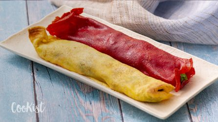 Colored crepes: how to make them without artificial coloring!